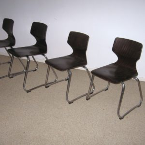 50x Elmar Flötotto children school chairs