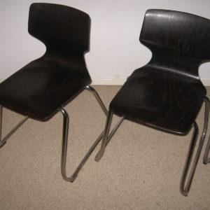 50x Elmar Flötotto children school chairs