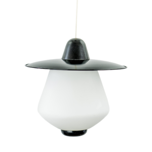 Black 60s pendant light