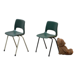 Marko kids chairs by Jac Vogels