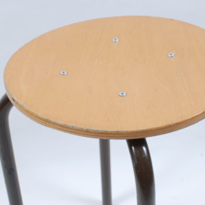 3x Marko kwartet F6 with black base 46cm stool SOLD