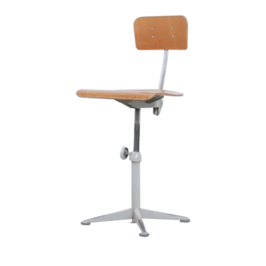 Grey Friso Kramer drafting chair for Ahrend de Cirkel