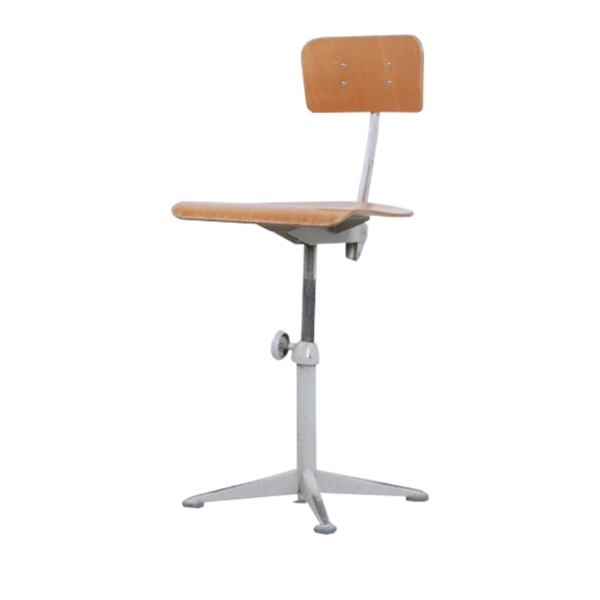 Grey Friso Kramer drafting chair for Ahrend de Cirkel SOLD