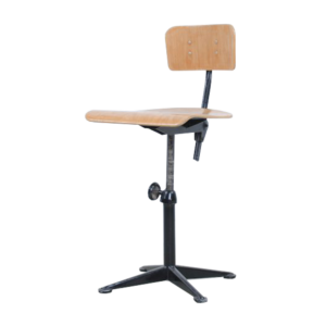 Black Friso Kramer drafting chair for Ahrend de Cirkel