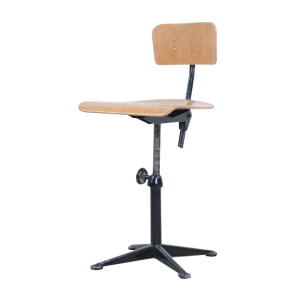 Black Friso Kramer drafting chair for Ahrend de Cirkel SOLD