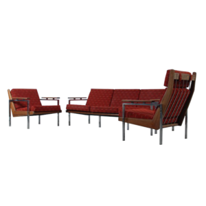 "Rob Parry ""Lotus"" sofa set"