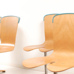2x Dinner chair by Ruud Jan Kokke