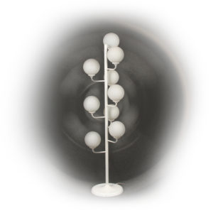 70's floor light with 9 spheres
