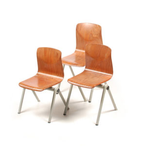 3x Thur-up-seat Childrens chair by Galvanitas
