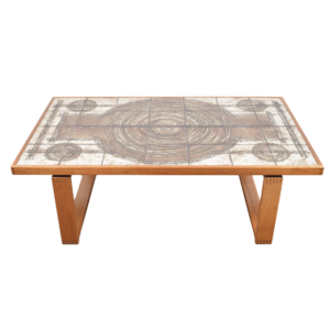 Rectangle tile table by Ox-Art