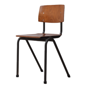22x Brown children's school chair
