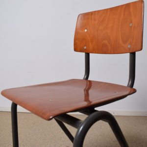 22x Brown children's school chair  SOLD