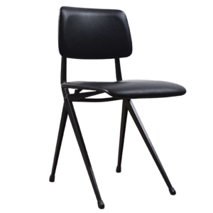 6x Black school chair by Marko