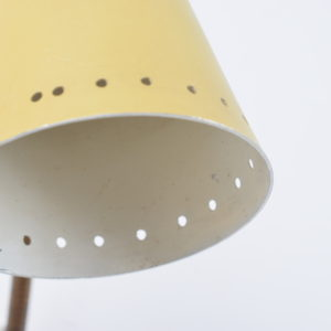 Yellow wall light 60's