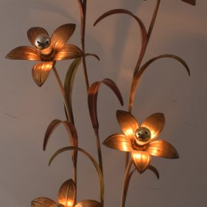 70's Flower floor light