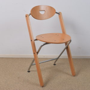 4x Folding chair by Ruud-Jan Kokke  SOLD