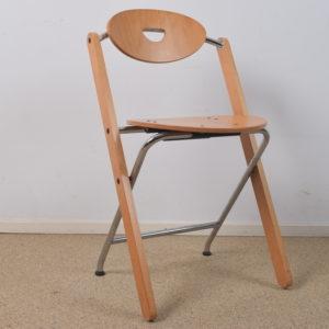 4x Folding chair by Ruud-Jan Kokke