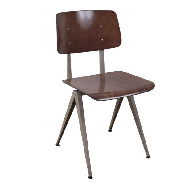 10x Model S16 Industrial chair by Galvanitas
