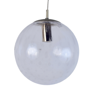 4x Glass globe pendant light by Raak Amsterdam