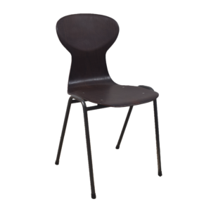 20x Obo black industrial chair by Eromes