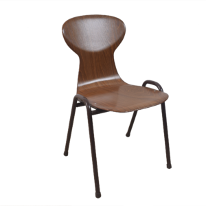 20x Obo brown industrial chair by Eromes