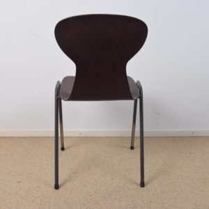 4x Obo black industrial chair by Eromes SOLD