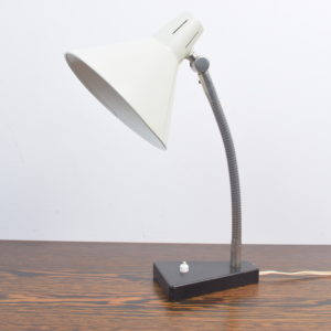 White desk light by H. Busquet
