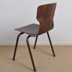 30x Brown industrial chair by Eromes