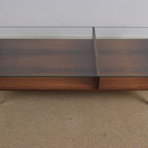 Glass coffee table by Gelderland