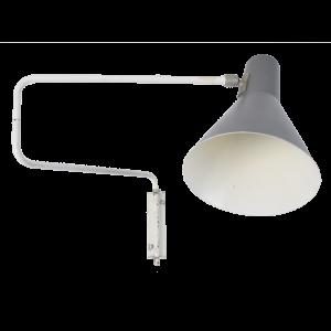 Paperclip-7101 Grey Wall light by Jan Hoogervorst