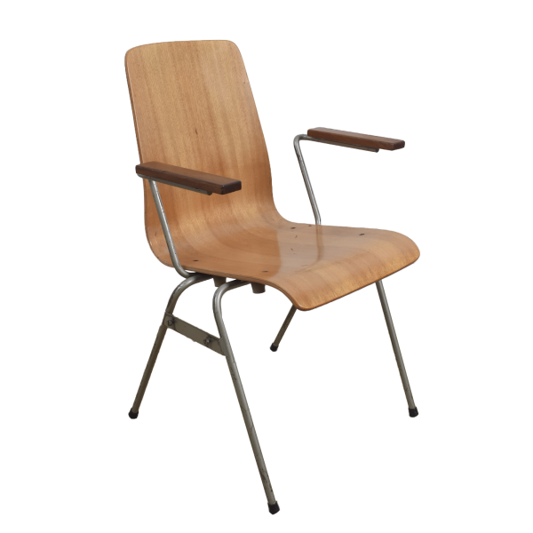 60x Industrial chair with armrests