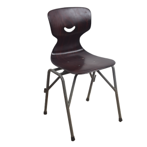 20x Industrial school chair by Galvanitas
