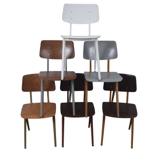 15x S16 industrial chairs by Galvanitas