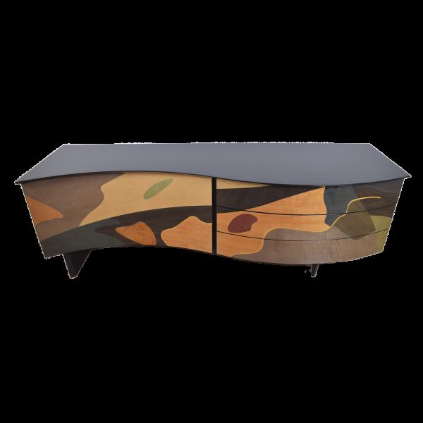Unique sideboard by Carlo Malnati  SOLD