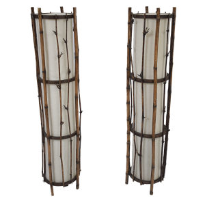 Bamboo floor light set