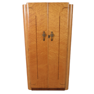 Art Deco Wardrobe SOLD