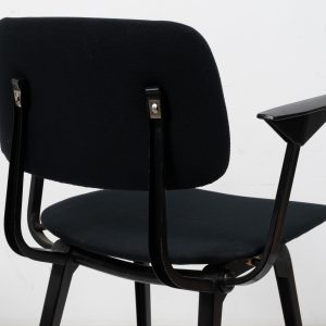 Revolt dining chair with armrests by Friso Kramer