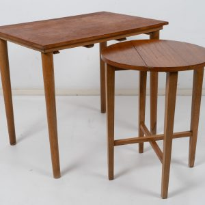 Nesting table by Poul Hundevad