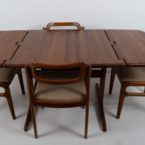 Dining set by Johannes Andersen for Uldum