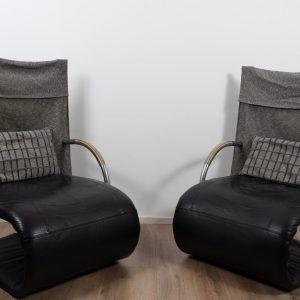 2x Zen chair by Claude Brisson