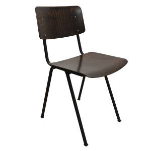 8x Industrial chair by Galvanitas (Brown - Blue)