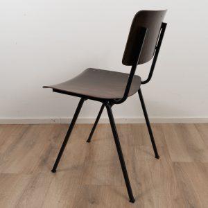 8x Industrial chair by Galvanitas (Brown - Blue) sold