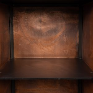 Patinated copper cupboard by Wout Wessemius