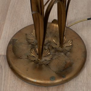 Brass floorlight by Hans Kögl
