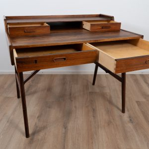 Model 65 rosewood writing desk by Arne Wahl Iversen