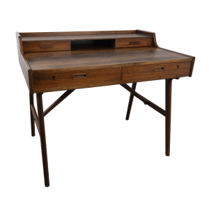Model 65 rosewood writing desk by Arne Wahl Iversen
