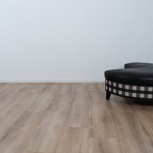 Checkered and leather Sofa by Wittmann