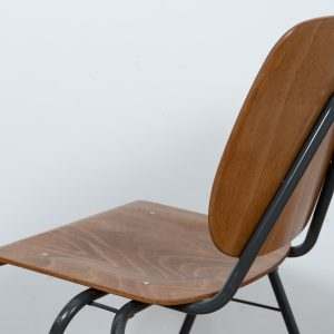 13x Stackable industrial chair by Kho Liang Ie