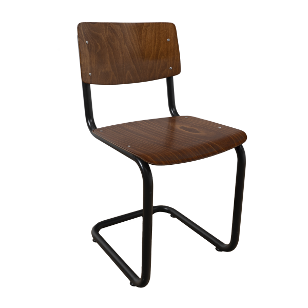 Industrial chair tubular frame (Grey - Brown) SOLD