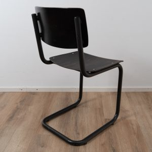 Industrial chair tubular frame (Black - Black) SOLD